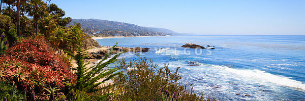 Laguna Beach California Coastline Panorama Photo