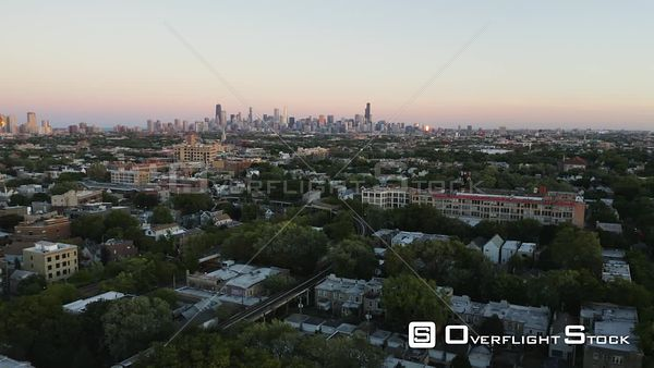 Chicago Suburb Drone View -- Available in HD and 4k -- 3840 x 2160 - 282.6 MB - MPEG4 - AVC Coding - 11.9 MB/sec - 23.98fps --