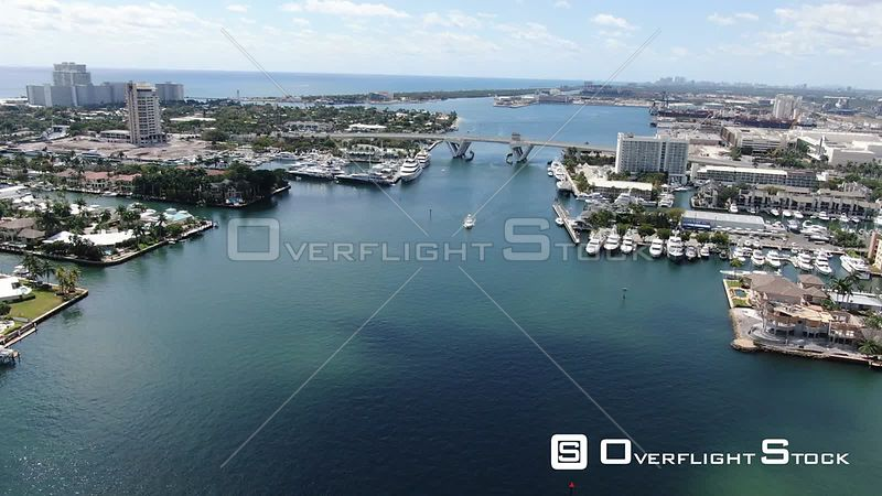 Drone Video Port Everglades Cruiseport in Fort Lauderdale Florida During the COVID-19 Pandemic