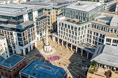 Paternoster Square- St. Paul's Cathedral, London