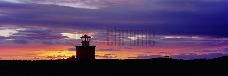 Lighthouse on Snaefellsnes Peninsula at Sunset
