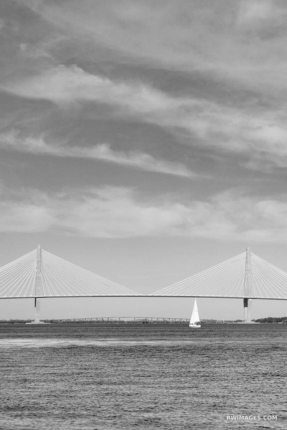Charleston South Carolina - Black and White Photos