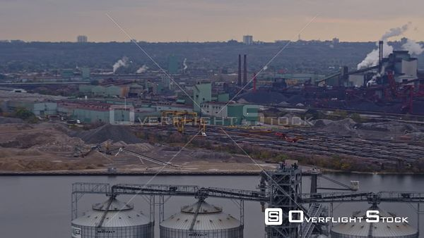 Hamilton Industrial Sector Ontario Panoramic Industrial Sector cityscape