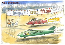 Bonneville Speed Record