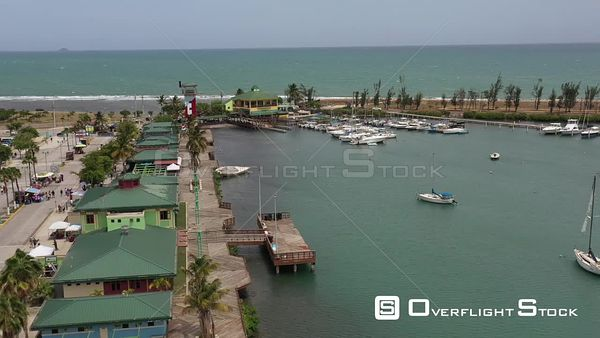City of Ponce, La Guancha Puerto Rico Drone Aerial View