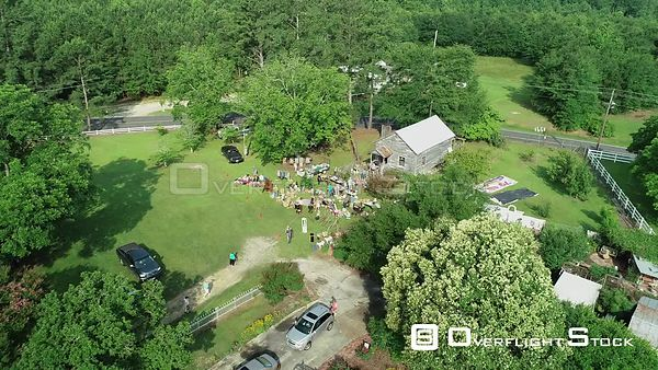 Drone Video Outdoor Market Dunn North Carolina