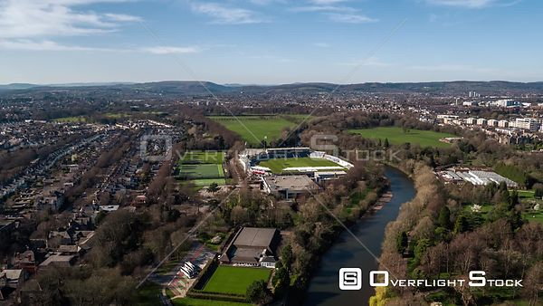 Drone Video Capital City of Wales Cardiff
