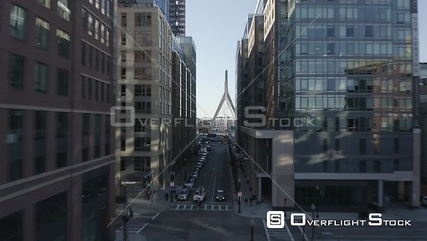 Beverly Street in Boston, MA, United States during the COVID-19 Pandemic