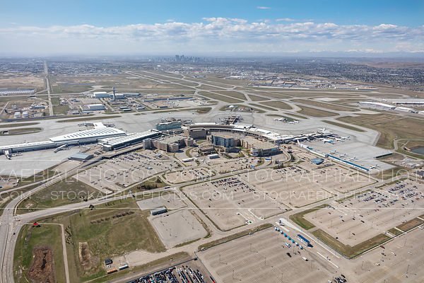 Calgary International Airport Terminals