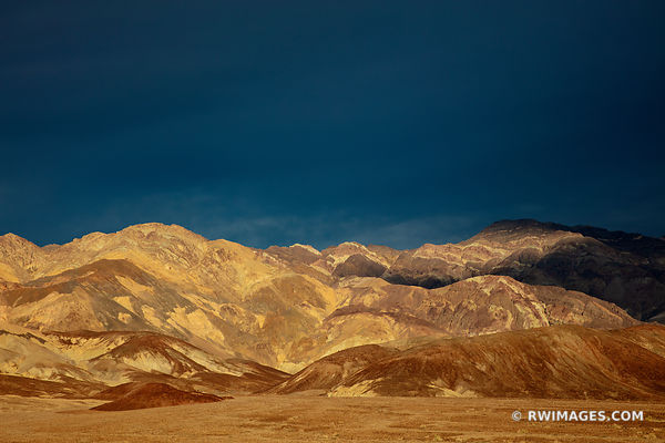 ARTISTS DRIVE SUNET MOUNTAINS DEATH VALLEY CALIFORNIA