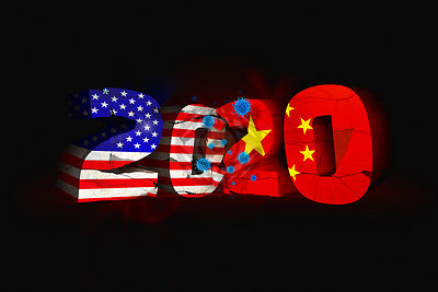 Covid-19 Accelerates the US v China Superpower Face-off in 2020.