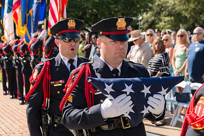 Norfolk Police Officer Memorial Ceremony 2019