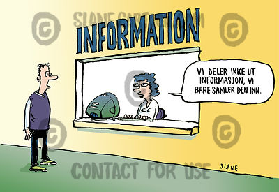 Information Window (Norwegian)