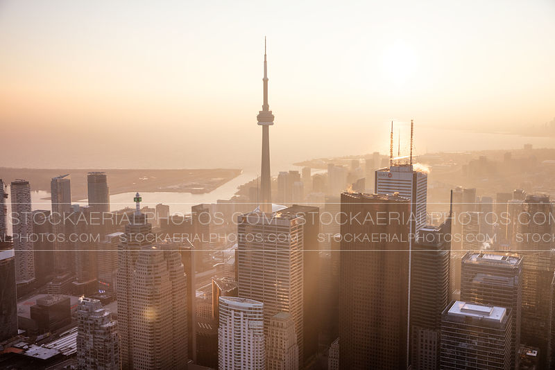 Toronto Hazy Sunset