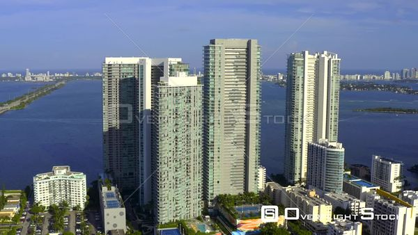 Aerial Video Paraiso Bay Residences Miami Florida Usa