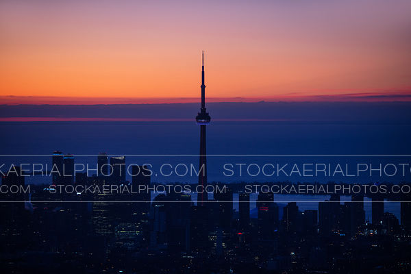 CN Tower Silhouette