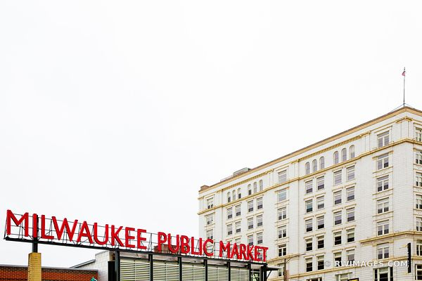 MILWAUKEE PUBLIC MARKET HISTORIC THIRD WARD DOWNTOWN MILWAUKEE WISCONSIN