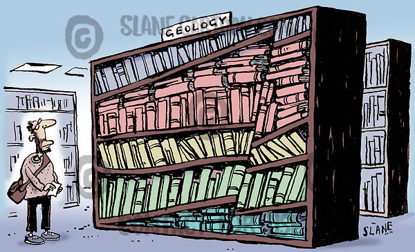 Geology Book Shelves