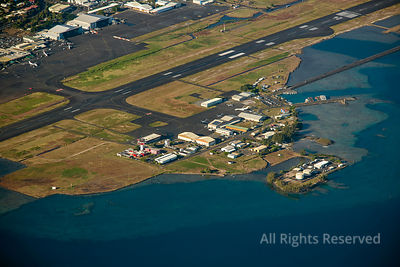International Airport at Papeete Tahiti French Polynesia