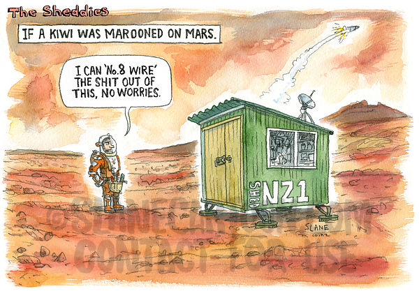 A Kiwi Marooned On Mars