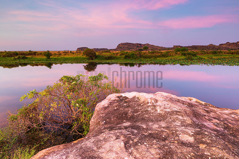 View of Ubirr at Sunset