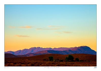 Flinders Ranges sunset