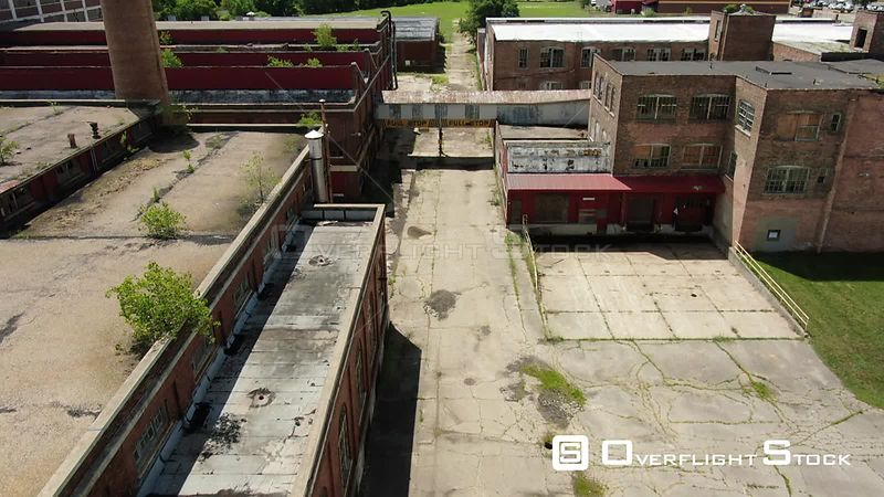 Abandoned Barber Coleman Factory Rockford Illinois
