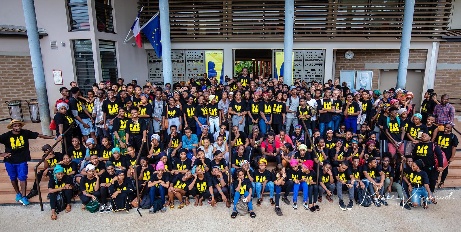 Ensemble des participants au Baobab Festival 2019