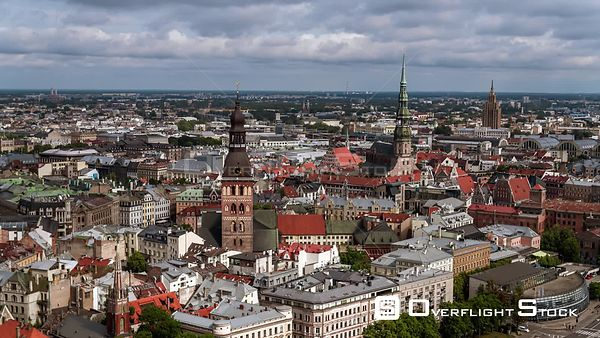 Drone Video Riga Capital of Latvia