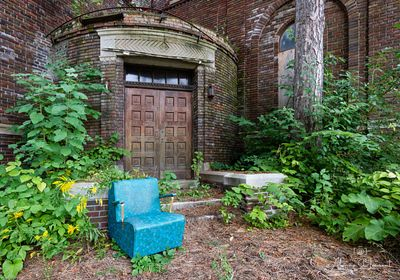 St_Margaret_Mary_Blue_Chair