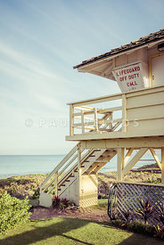 Maui Kamaole Beach Lifeguard Tower Photo