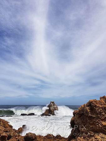 Cloud, Wave, Rock