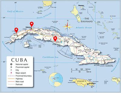 Map Cuba TourGuide medium