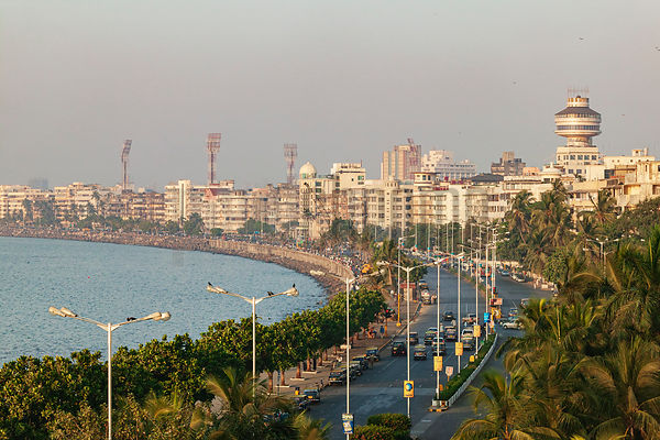 Elevated View of Marine Drive