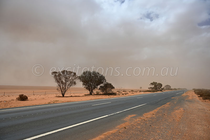 Sturt Highway, during drought.