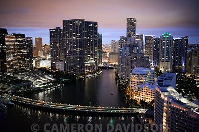 Brickell Key And Miami