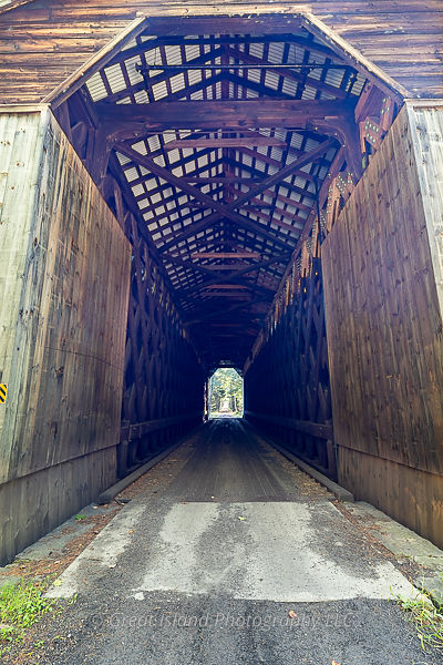 Walking through Wrights Railroad Bridge