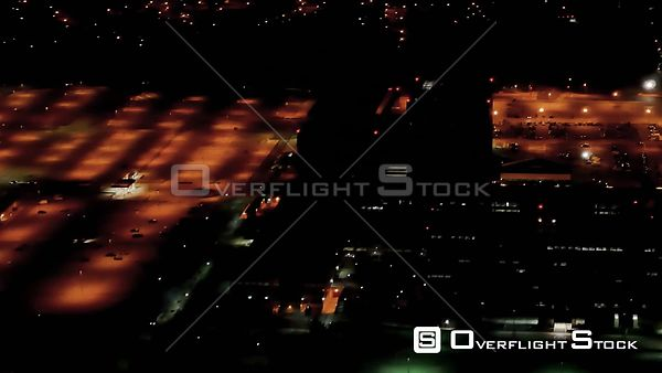NSA National Security Agency Headquarters Fort Meade Maryland NIghttime