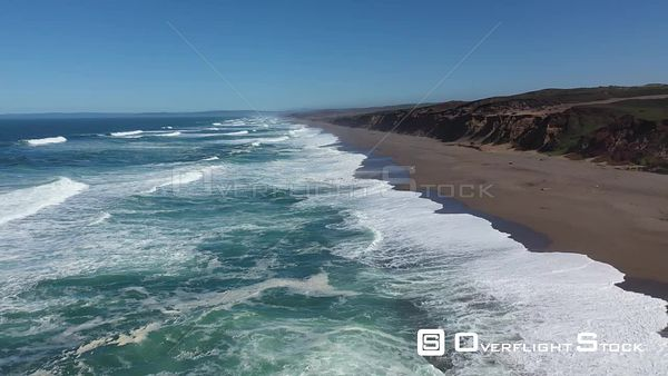 Point Reyes Seashore California Drone Aerial View