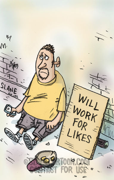Will Work For Likes
