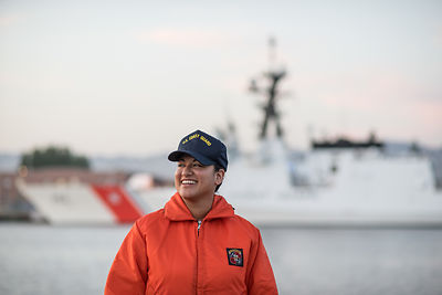 COAST GUARD WOMEN MODEL-RELEASED