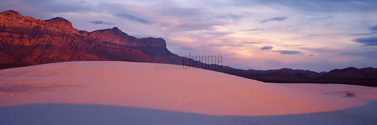 Salt Basin Dunes and Guadalupe Mountains