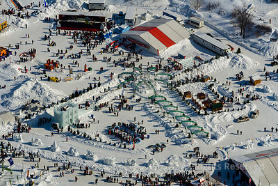 Quebec Winter Carnival. Quebec City Canada