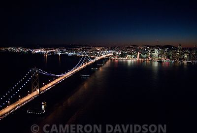 San Franciso Bay- Oakland Bridge