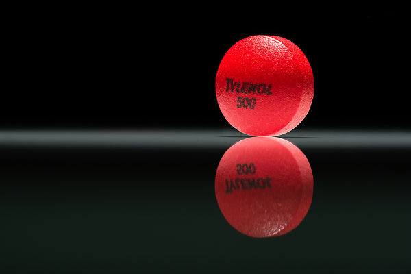 Montreal Commercial Photographer, South Shore pharmaceutical Product Photography, Tylenol