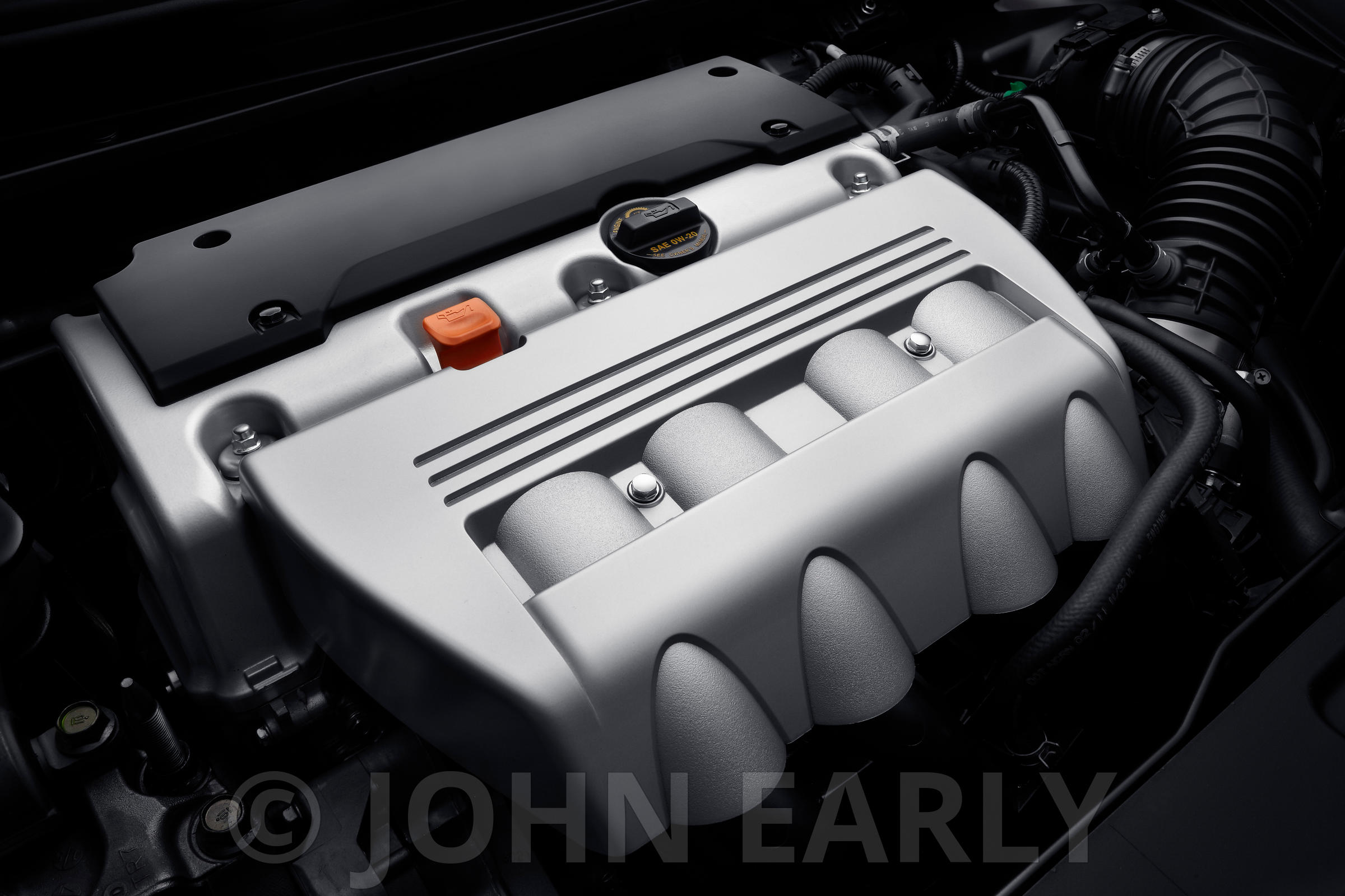Premium 4-Cylinder Engine No Logo