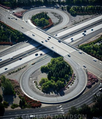California Highway interchange