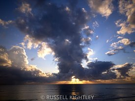 Stormy Sunset Cottesloe Beach South