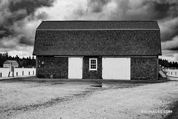 JACKSON HARBOR WASHINGTON ISLAND DOOR COUNTY WISCONSIN BLACK AND WHITE