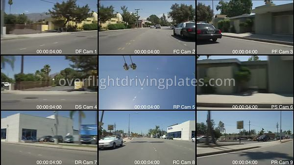 Police Station  Pasadena California USA - Driving Plate Preview 2012
